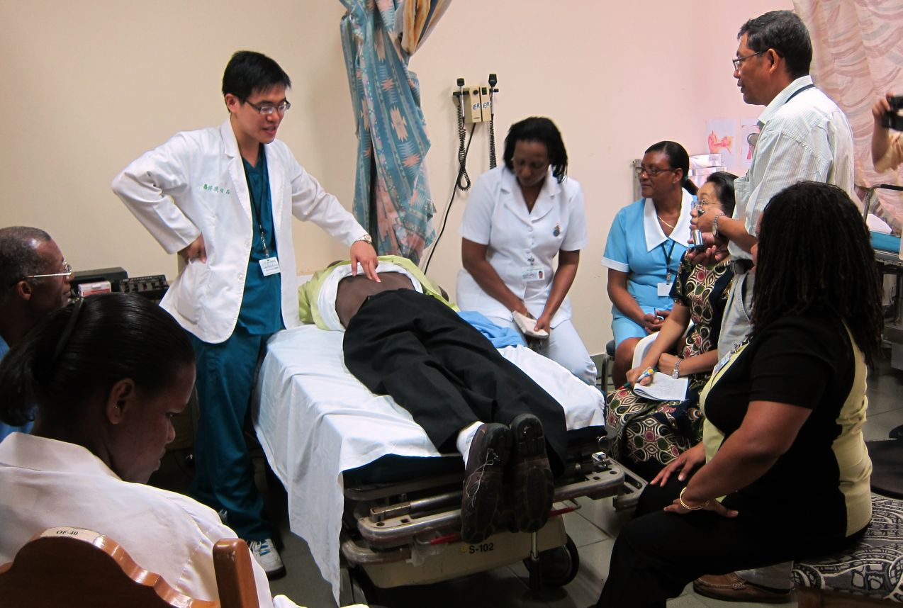 Affordable Universal Health Coverage ─ Taiwan can help --- Saint Lucia | Changhua Christian Hospital | Leave No One Behind