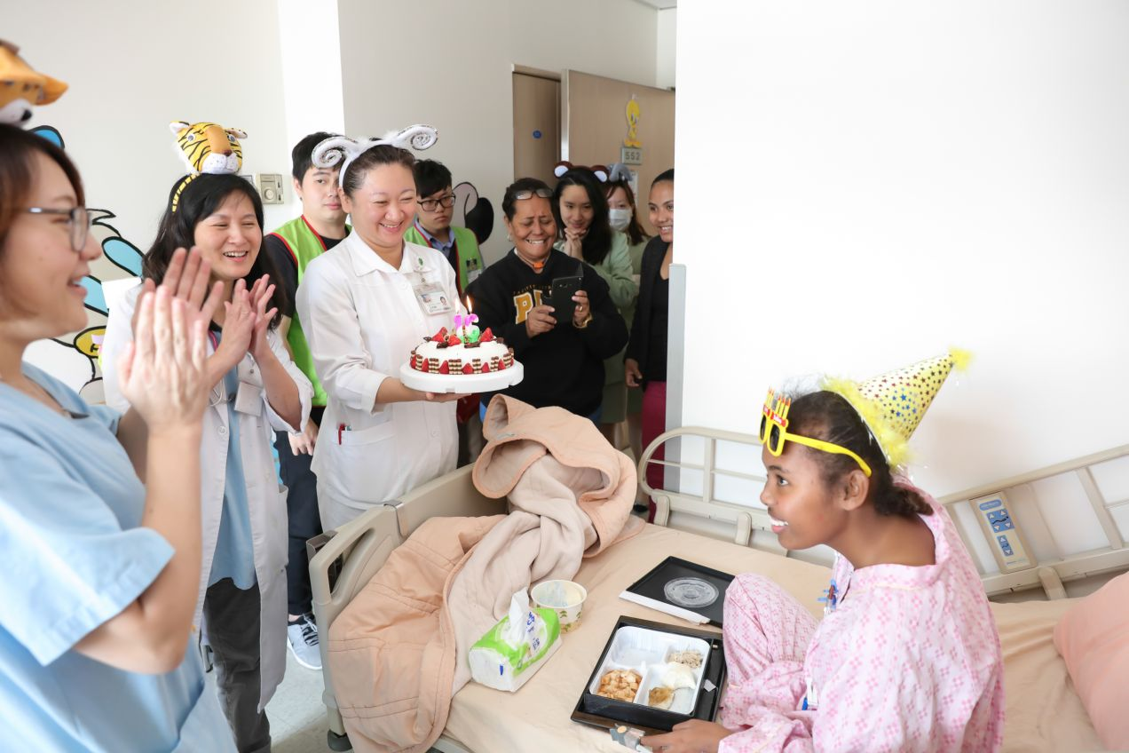 Affordable Universal Health Coverage ─ Taiwan can help --- Palau   Shin Kong International HealthCare Center   Leave No One Behind