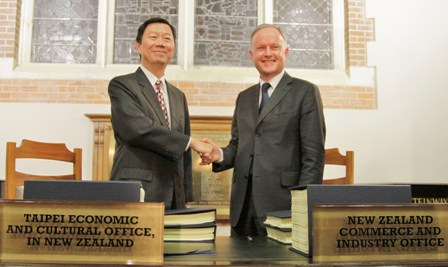Taiwan New Zealand Ink Anztec Agreement