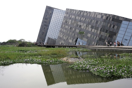 lanyang museum bags world architecture award taiwan today