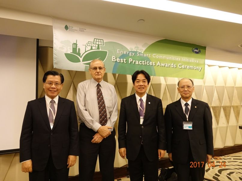 Three Taiwan green projects pick up awards at APEC event - Taiwan Today