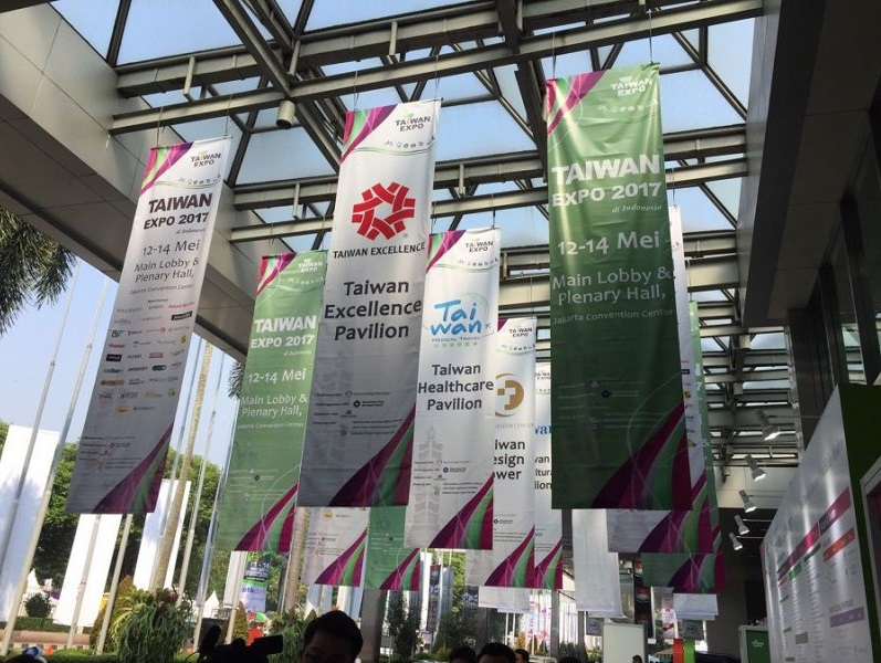 Taiwan Expo 2017 trade show begins regional tour in Jakarta - New