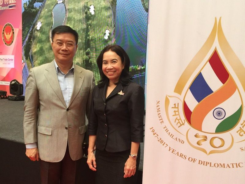 Director-General Charles Li attends the Thailand Week opening ceremony in Chennai Photos - New Southbound Policy