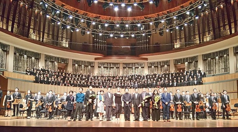 Taipei Philharmonic Chorus and Singapore's Orchestra of the Music Makers Deliver Powerful Performance Photos - New Southbound Policy
