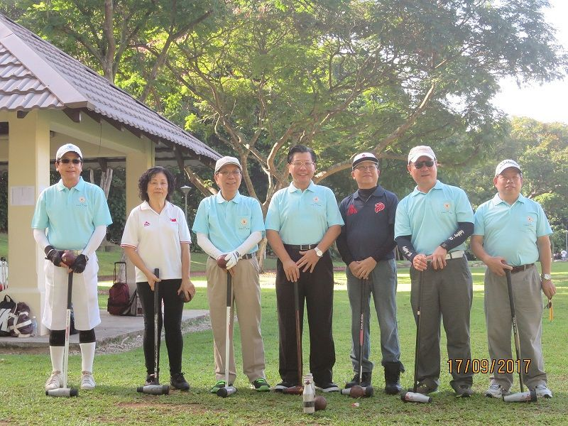 Taiwan Compatriots in Singapore Host ROC 106th Double Tenth Woodball Invitation Championship and Prize Award Dinner Photos - New Southbound Policy