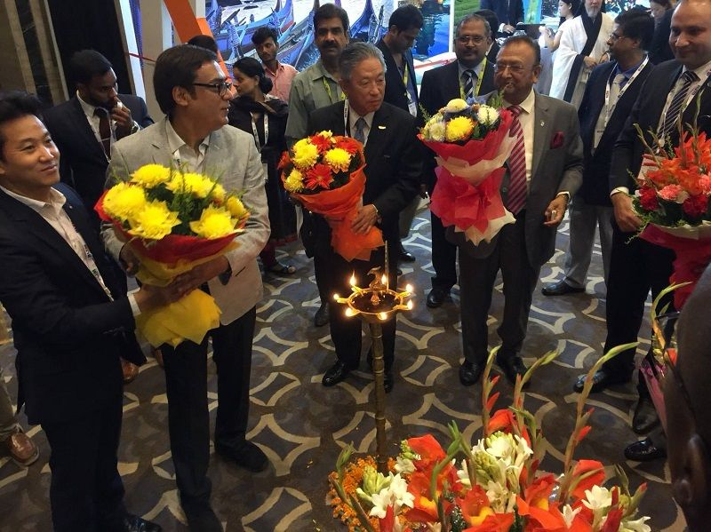 HE Amb. Tien promotes Taiwan Tourism in BLTM 2017 Photos - New Southbound Policy
