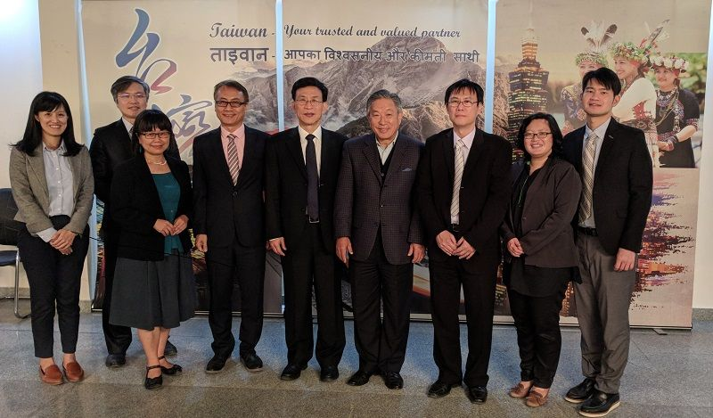 Amb. Tien addressed in the Taiwan-India Telecommunications Standard Summit Photos - New Southbound Policy