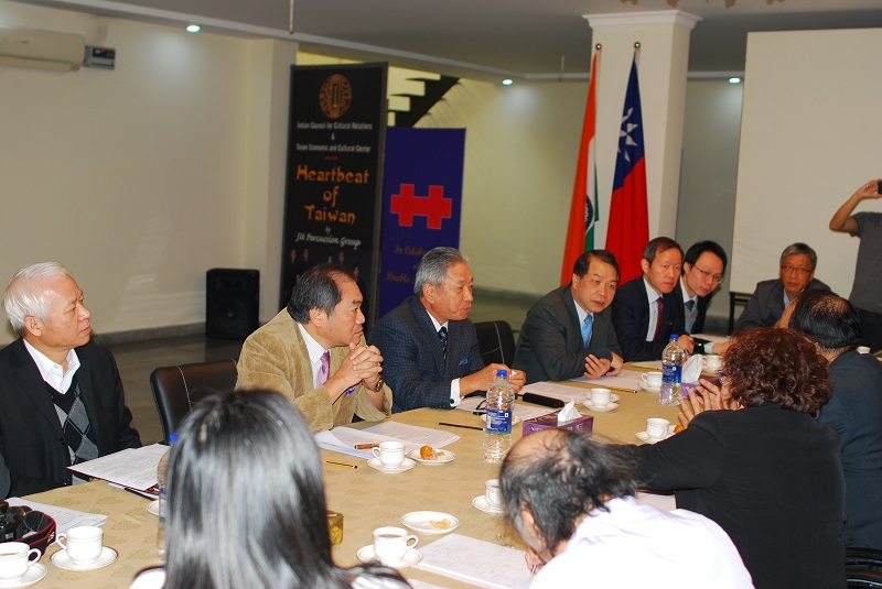 Delegation from the Bureau of Cultural Heritage, Ministry of