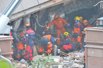 Rescue operations ramp up after eastern Taiwan earthquake