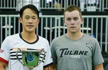 Taiwan's Jason Jung wins men's singles title at ATP Challenger event in US