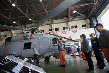 Tsai reiterates commitment to upholding ROC military capabilities