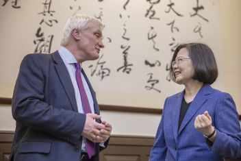 President Tsai eyes expanded Taiwan-UK cooperation