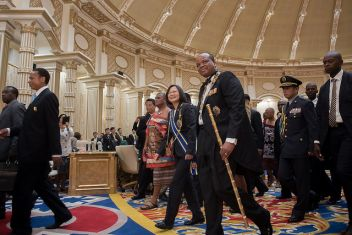 President Tsai, King Mswati III ink joint communique in Swaziland