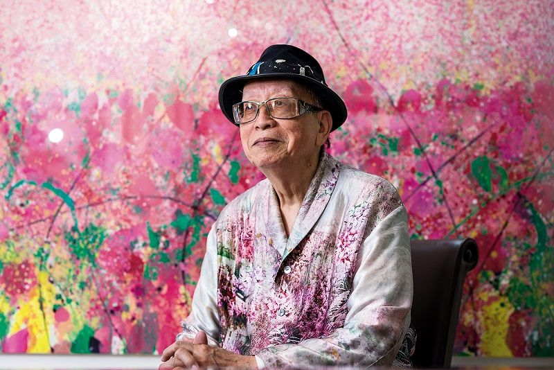 Betting on Abstract Art - Chen Cheng-hsiung's Journey of Self-Discovery Photos - New Southbound Policy