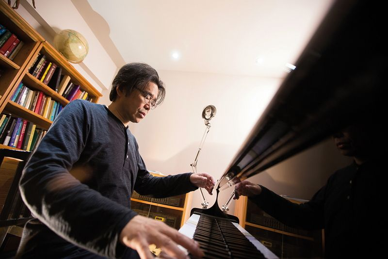 Eternity Expressed in Music - Composer Gordon Chin Photos - New Southbound Policy