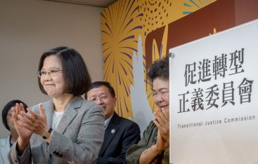 Tsai sends message of democracy, freedom to people of China