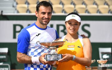 Taiwan's Chan wins 1st French Open mixed doubles crown