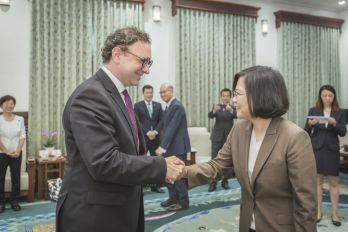 President Tsai reiterates Taiwan's commitment to upholding universal values, regional stability