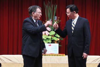 Pierre Loisel awarded MOFA medal for enhancing Taiwan-Canada ties, local ICT industry