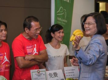 Tsai sows seeds of success for sustainable organic farming in Taiwan