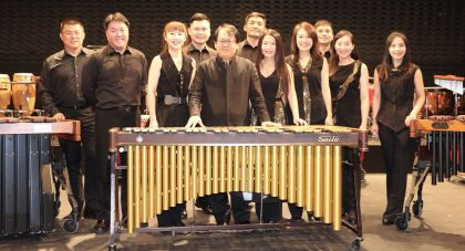Taiwan percussion group wows audiences at Indonesia festival