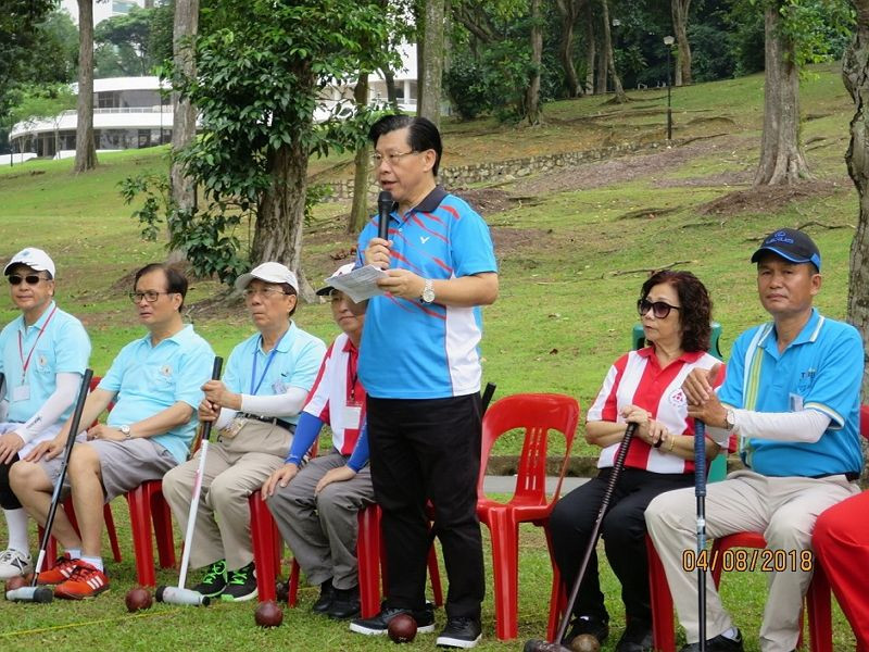 Representative Francis Liang Attends 18th Singapore Lion City Cup International Woodball Open Championship 2018 Photos - New Southbound Policy
