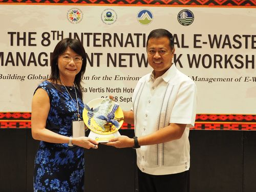 U.S., Taiwan joint e-waste management workshop opens in Philippines  Photos - New Southbound Policy