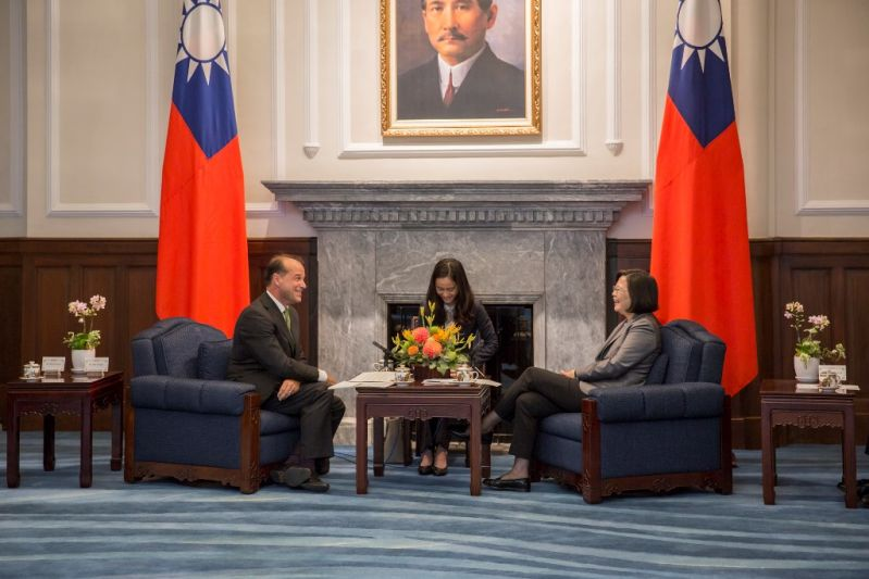 President Tsai eyes expanded Taiwan-UK trade ties[open another page]