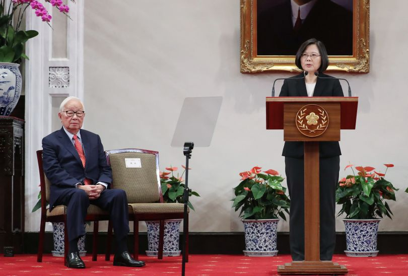 Tsai names TSMC founder Chang as envoy for APEC leaders' meeting Photos - New Southbound Policy