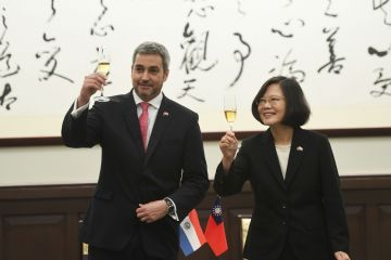 Foreign leaders, dignitaries visit Taiwan for Double Tenth National Day