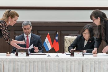 Taiwan, Paraguay sign joint statement pledging to deepen ties