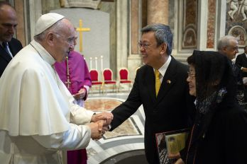VP Chen touts Taiwan-Holy See ties during Vatican visit