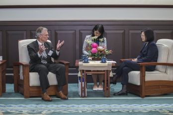 Tsai vows to bolster Taiwan's resilience, strengthen ties with US