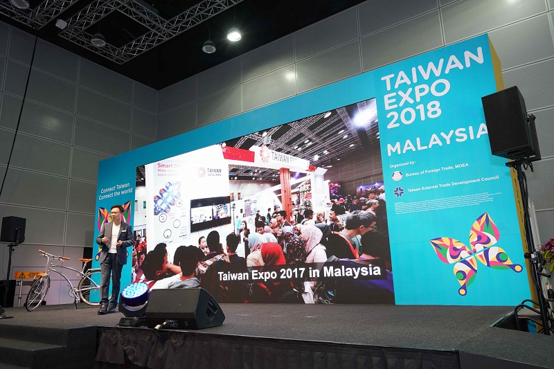 Taiwan Expo 2018 trade show kicks off in Kuala Lumpur Photos - New Southbound Policy