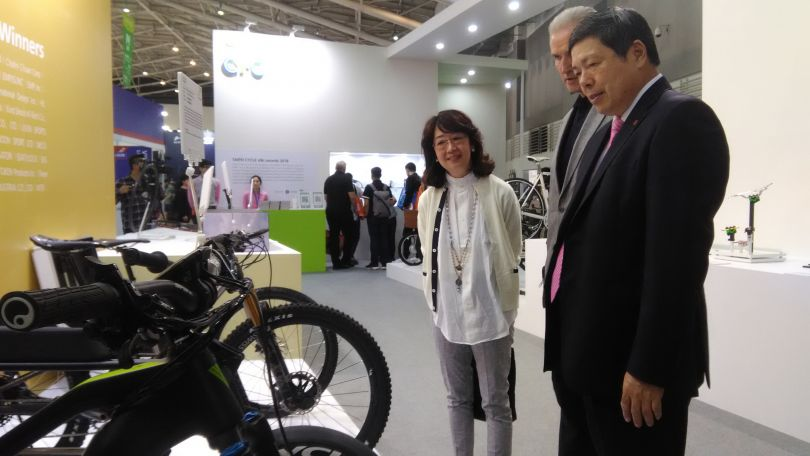Taipei Cycle Show gets underway in Taiwan Photos - New Southbound Policy