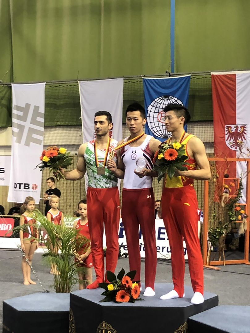 Taiwan gymnast Lee Chih-kai grabs gold at World Cup series Photos - New Southbound Policy