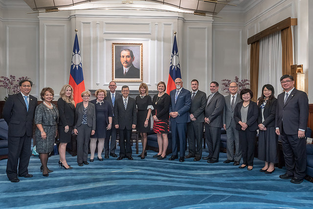 VP Chen eyes enhanced Taiwan-US collaboration on labor affairs Photos - New Southbound Policy
