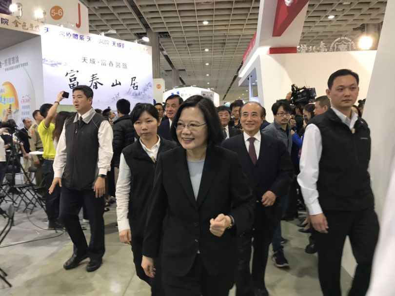 Tsai pledges to expand international cooperation on medical technology R&D Photos - New Southbound Policy