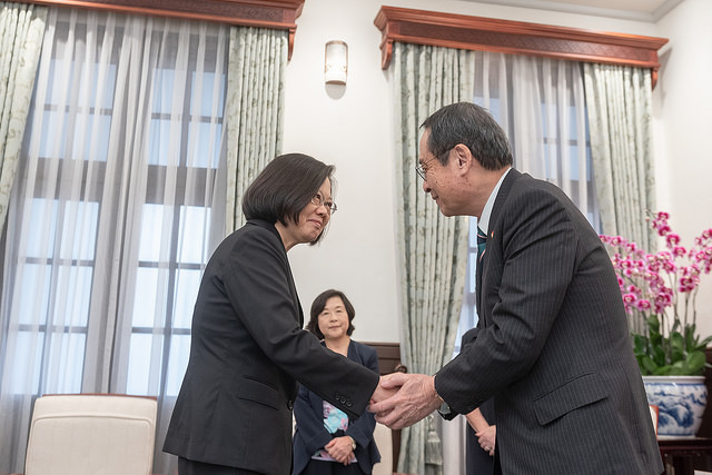 President Tsai meets Takao Fujii, Chairman of National Federation of Japan-Taiwan Friendship Associations  Photos - New Southbound Policy