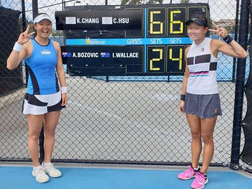 Taiwan tennis duo wins Launceston title in Australia Photos - New Southbound Policy