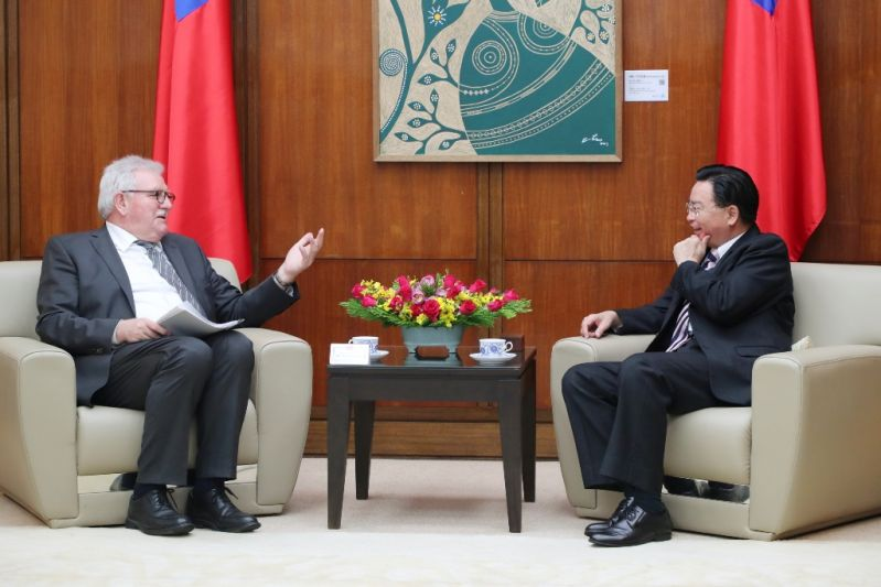 MOFA welcomes visit by EP-Taiwan Friendship Group delegation[open another page]