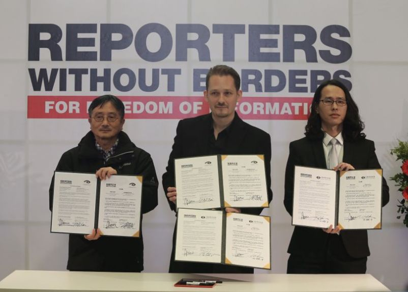 Reporters Without Borders to set up Taiwan chapter Photos - New Southbound Policy