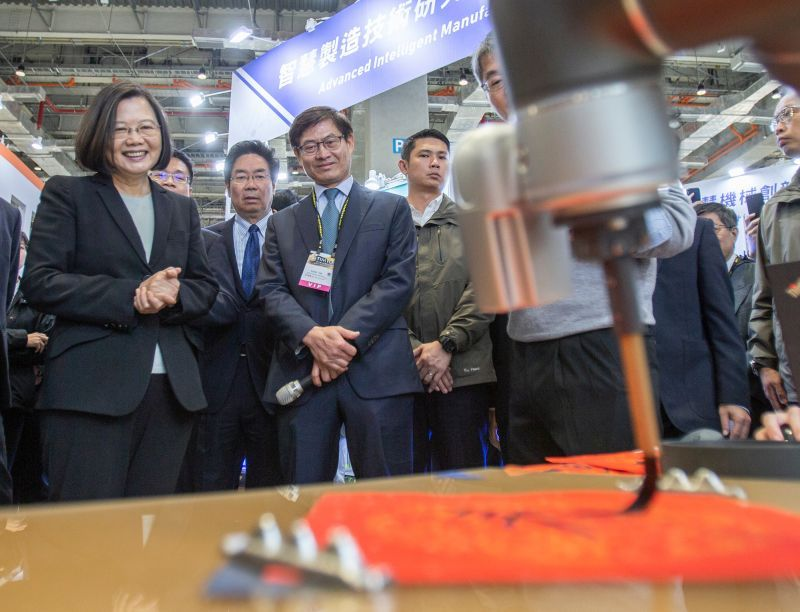 Taipei International Machine Tool Show kicks off with record number of exhibitors Photos - New Southbound Policy