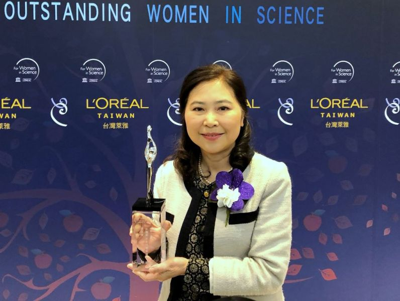 NTU math professor wins Taiwan female science award[open another page]