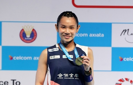 Badminton world No. 1 Tai retains Malaysia Open women's singles title Photos - New Southbound Policy