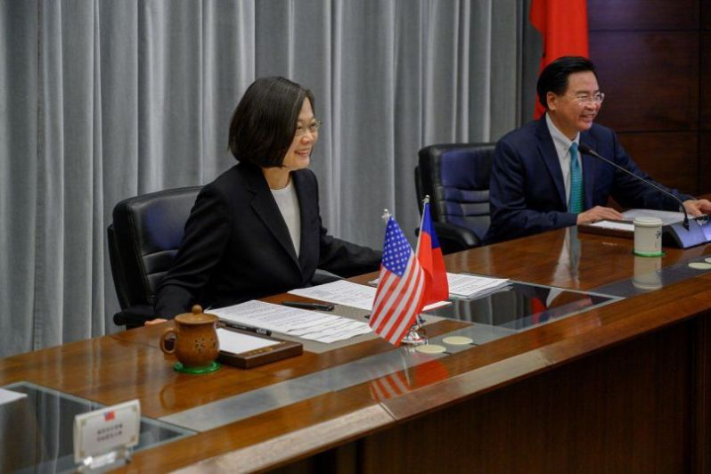 President Tsai delivers special address at CSIS TRA40 conference Photos - New Southbound Policy