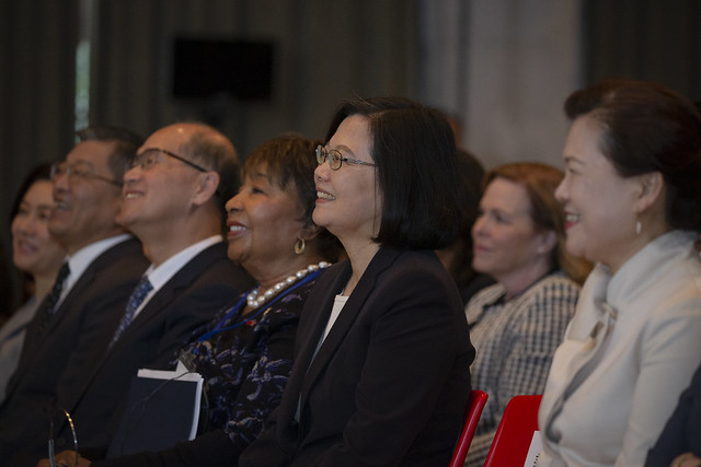 President Tsai attends Women's Economic Empowerment Summit under Taiwan-US Global Cooperation and Training Framework Photos - New Southbound Policy