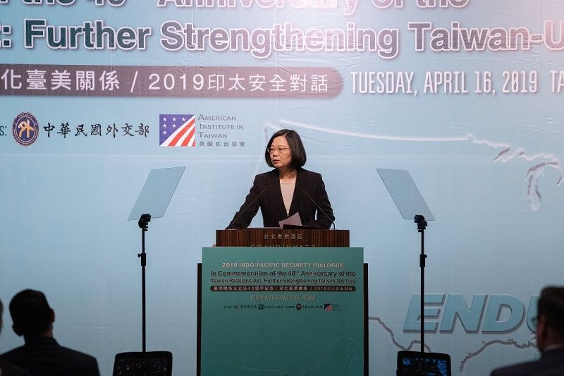 Tsai reiterates Taiwan's commitment to free, open Indo-Pacific Photos - New Southbound Policy