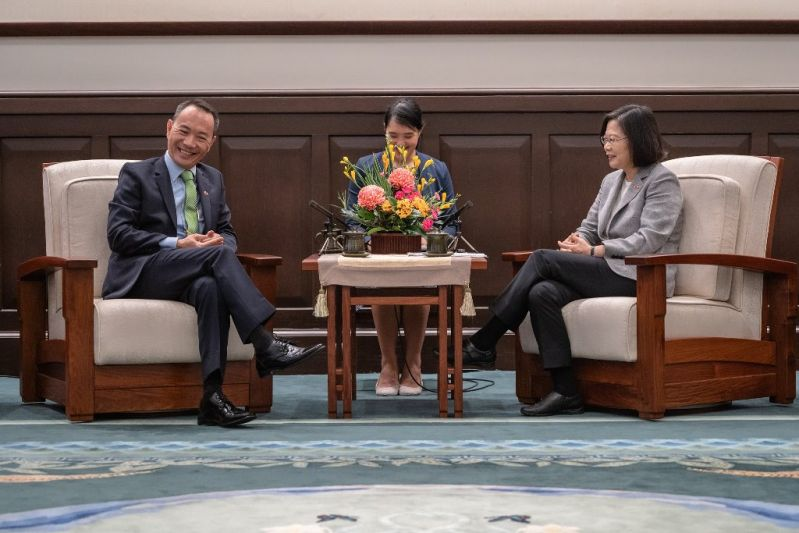 President Tsai touts strength of Taiwan-Belize relations[open another page]