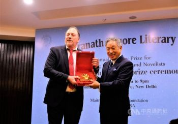 Focus Areas。Tsai, people of Taiwan honored for promoting democracy, human rights at India literary prize